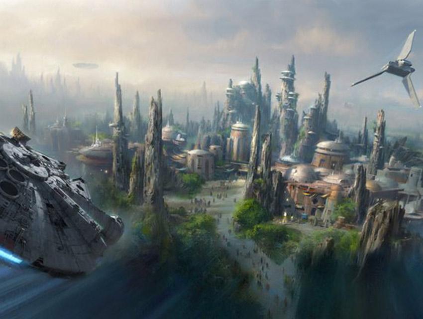 El imperio contraataca: construye 'Star Wars Galaxy's Edge'