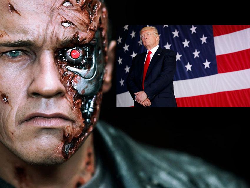 Terminator viajará a 2019 para sacar a Trump de la cárcel