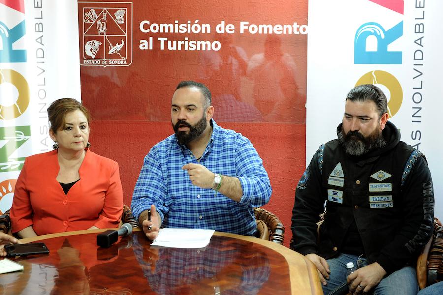 Harán escala en Ciudad Obregón 200 motociclistas: Héctor Platt