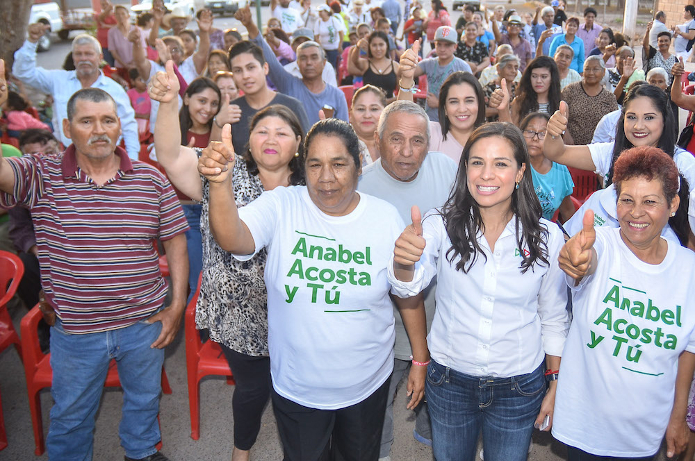 Continúa adelante Anabel Acosta con sus recorridos