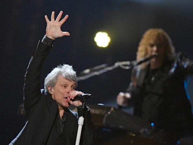 Bon Jovi entra al Salón de la Fama