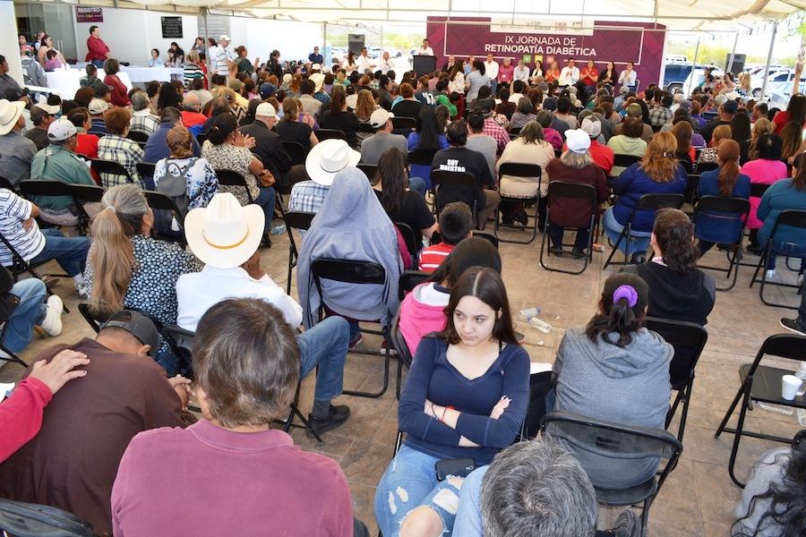Realizan novena Jornada de Retinopatía Diabética en Caborca