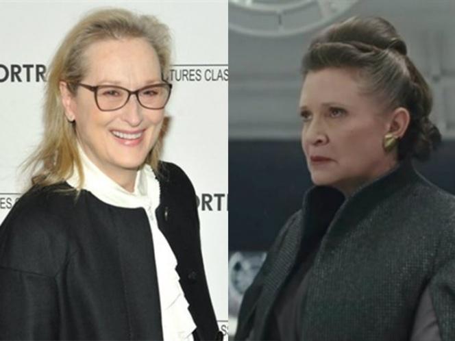 Quieren que Meryl Streep interprete a la princesa Leia