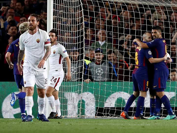 Roma le regala favores al Barcelona