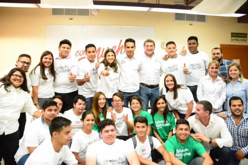 Apoyarán Sylvana y Maloro a jóvenes en apoyos a la educación