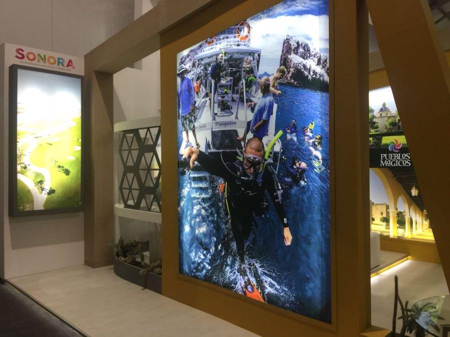 Presenta Sonora destinos y atractivos en Tianguis Turístico Mazatlán 2018