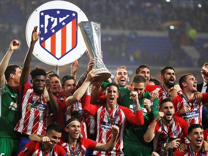 Atlético consigue cómodo título de Liga Europa