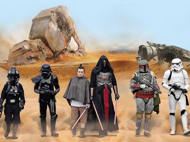'Star Wars' celebra la fuerza