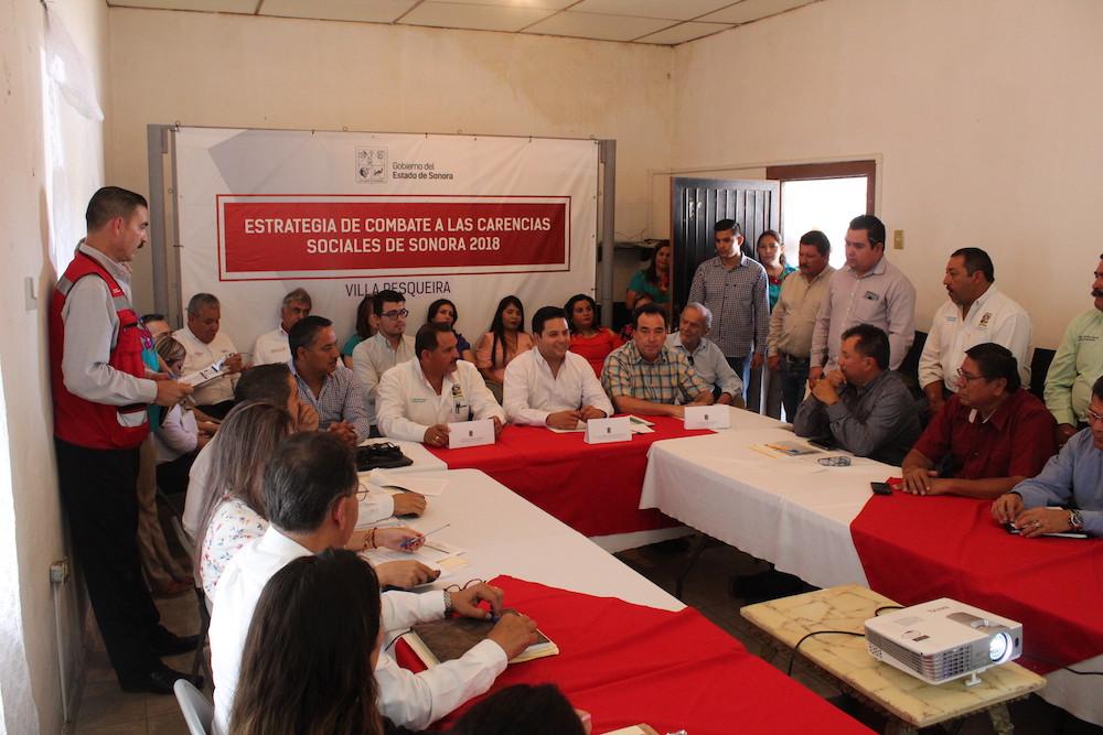 Habilitará SEDESSON red de agua potable para habitantes de Villa Pesqueira