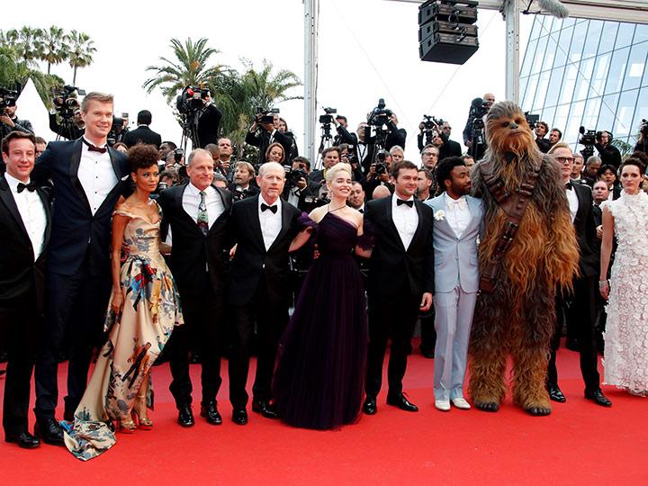 'Star Wars' toma la alfombra roja de Cannes