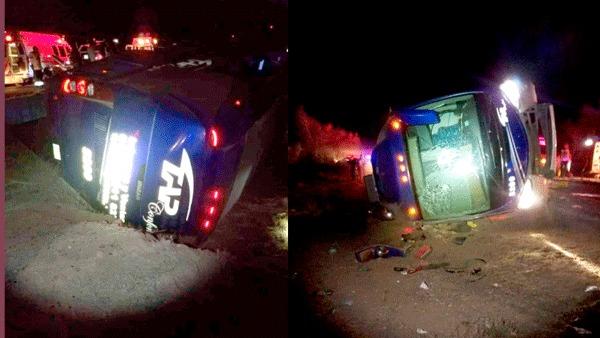 9 muertos y 4 heridos graves, luego del camionazo de TAP