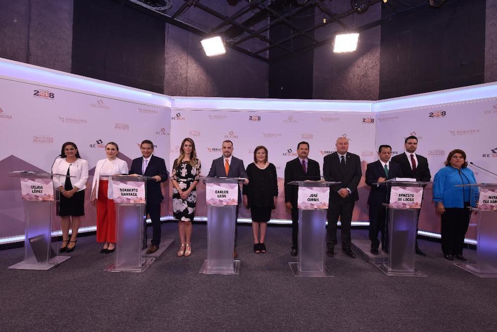 Realiza IEE Sonora debate entre candidatas y candidatos a la Presidencia Municipal de Hermosillo
