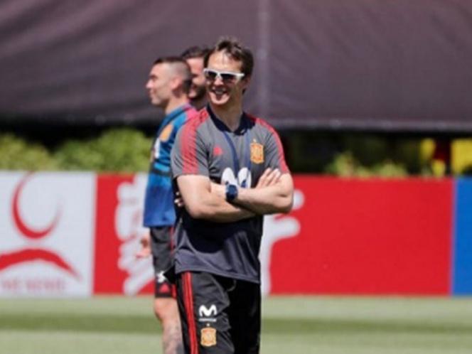 Destituyen a Lopetegui como entrenador de España a un día del Mundial