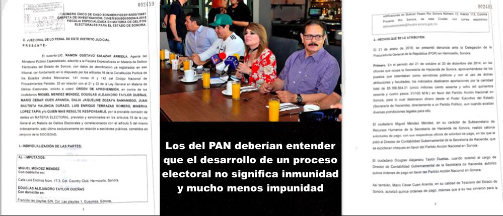 Exige PAN impunidad