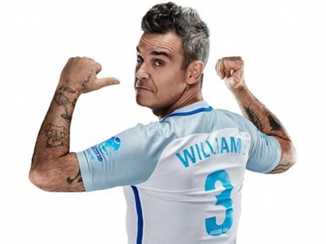 Robbie Williams cantará en la apertura del Mundial Rusia 2018