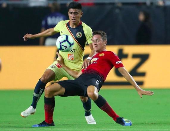 América y Manchester United igualan fuerzas