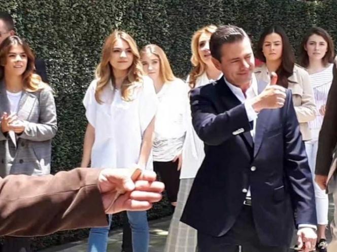 Peña Nieto celebró la armonía con que transcurre la jornada electoral