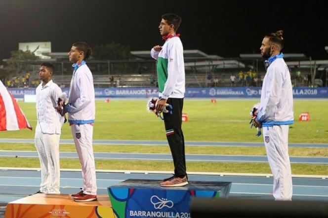 México suma tercer oro en atletismo de Barranquilla