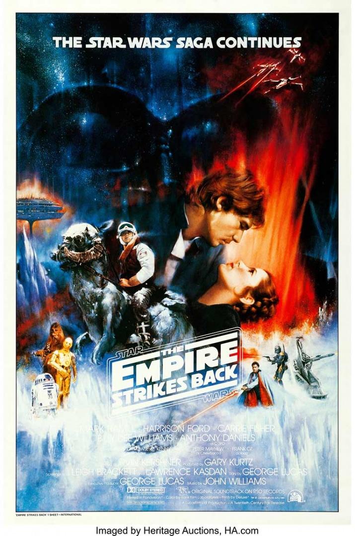 Borrador de cartel de 'Star Wars' se subasta por 26 mil dólares