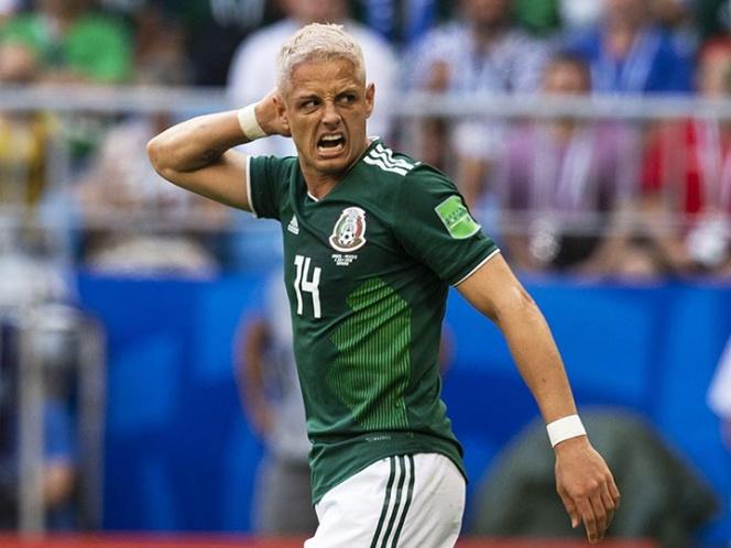 México tuvo un buen Mundial, según 'Chicharito'