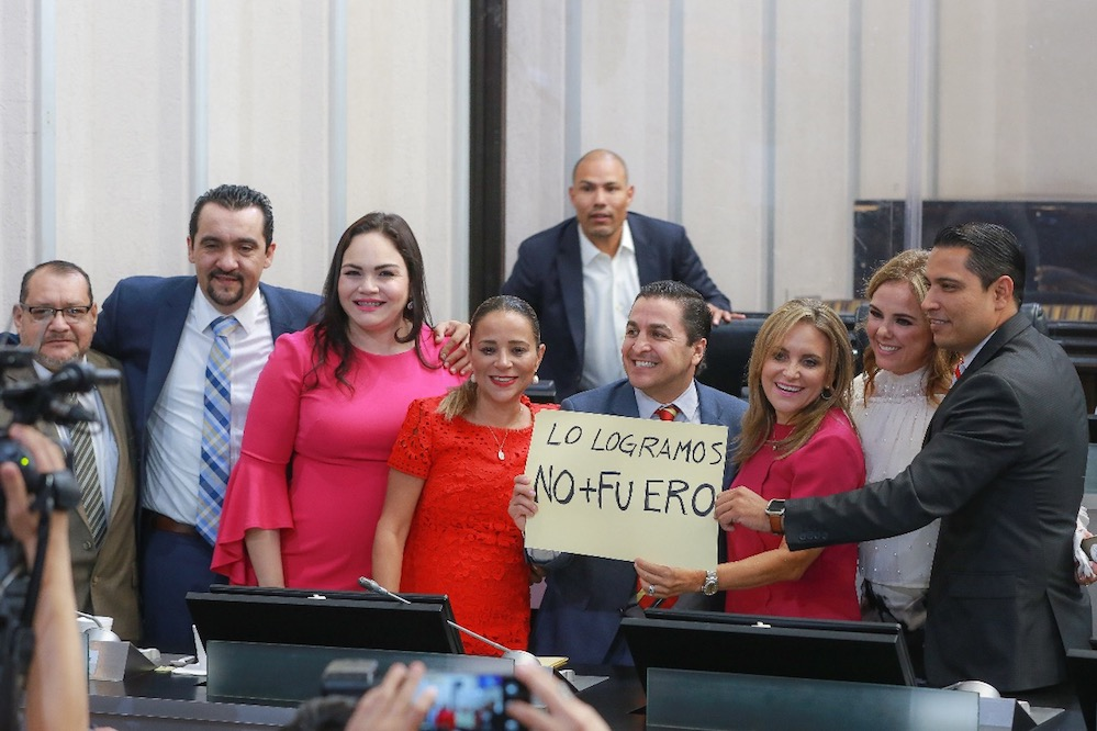 Se elimina el fuero y privilegios para funcionarios en Sonora: Diputados PRI