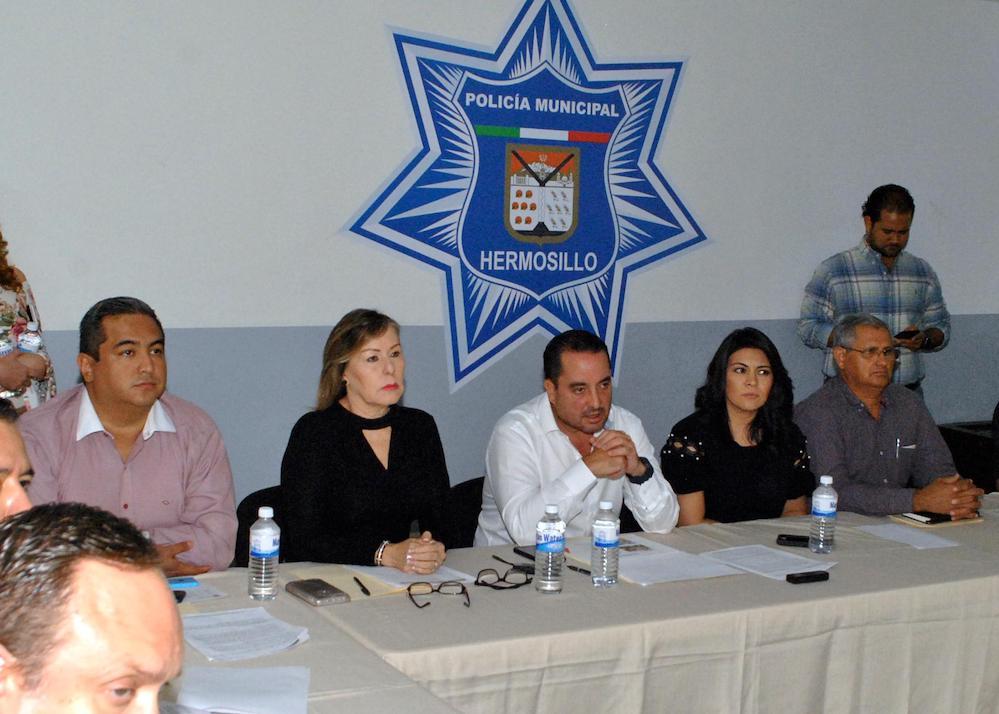 Visita la Comisión Mixta de Transición Seguridad Pública Municipal