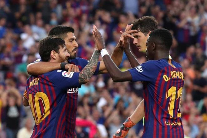 Barcelona se da festín de goles ante el Huesca