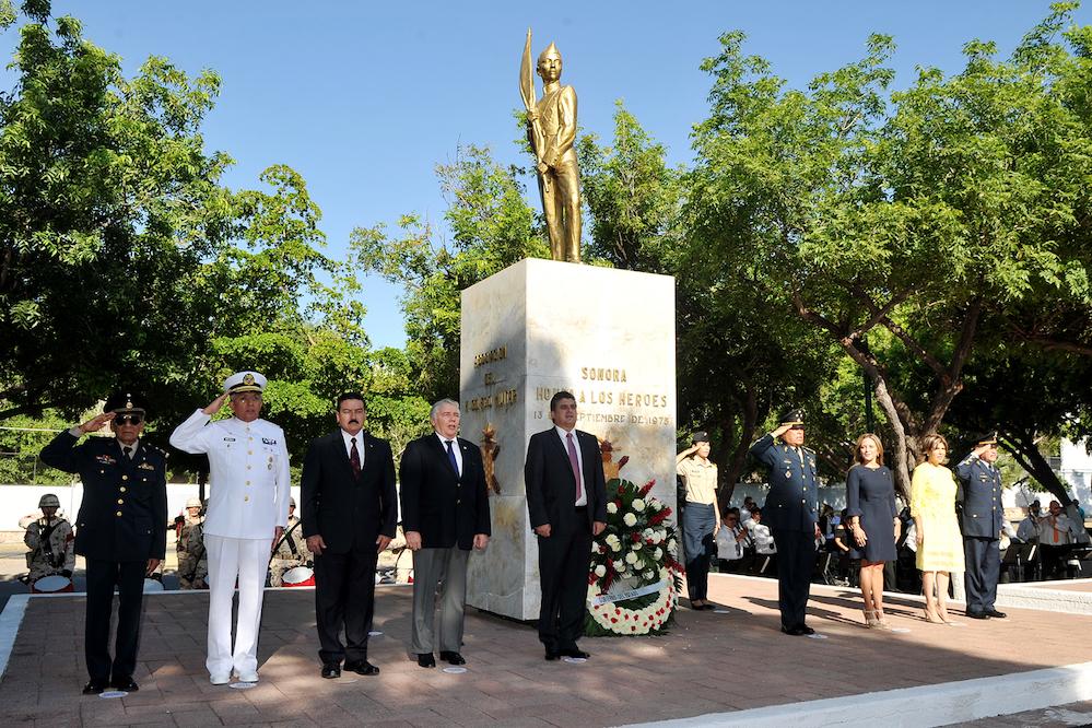 Encabeza Secretario de Gobierno ceremonia de la Gesta Heroica de los Niños Héroes