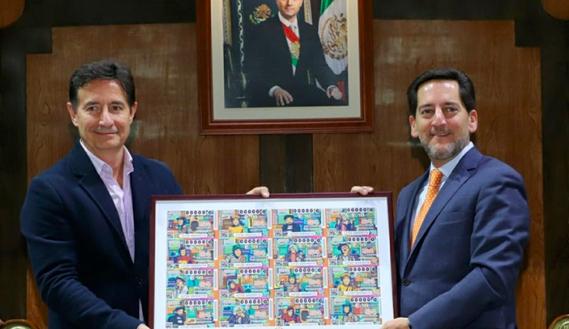 Lotería Nacional homenajea a 'Chespirito' con Sorteo Mayor