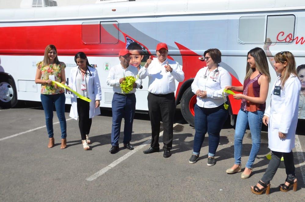 Cuenta Secretaría de Salud con Unidad Móvil para la Donación de Sangre