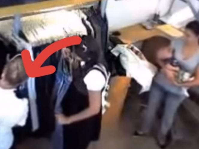 Filtran el supuesto video de Daniela Castro robando en EU
