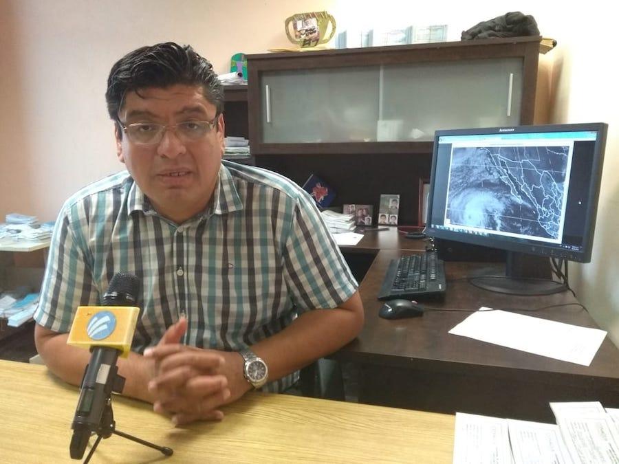 Sergio generará lluvias intensas en Sonora: Gilberto Lagarda