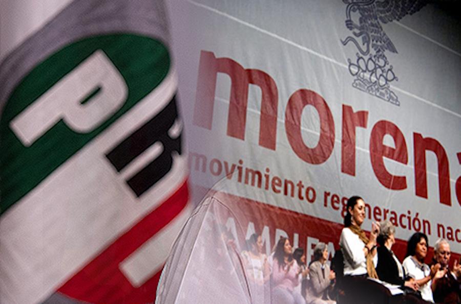 Los vicios del PRI los encarna Morena ¡Qué bien!