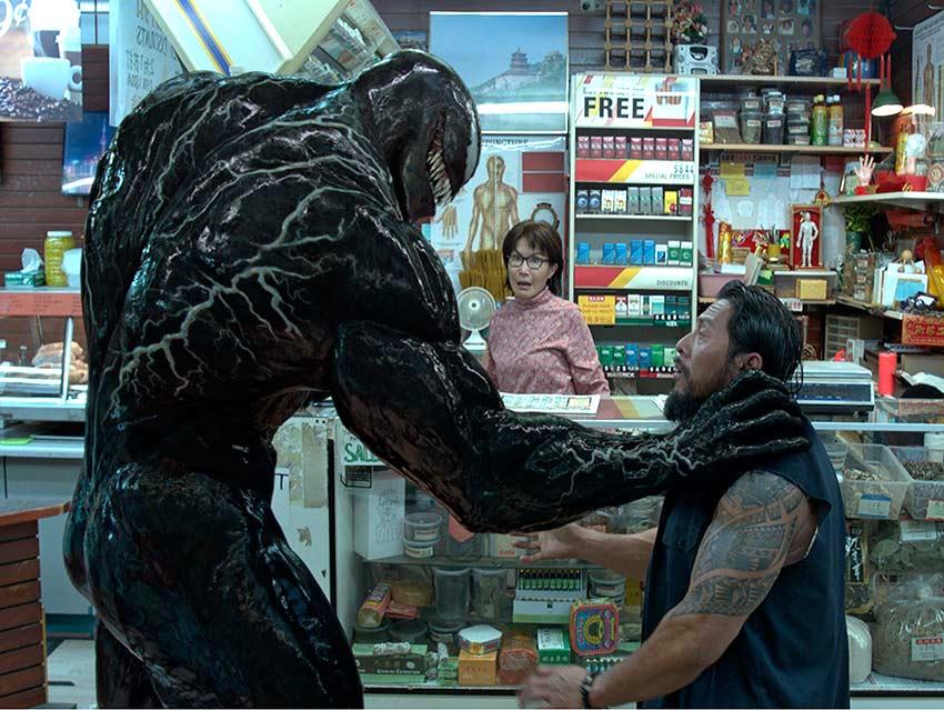'Venom' hace historia y se apodera de 80 mdd en taquilla
