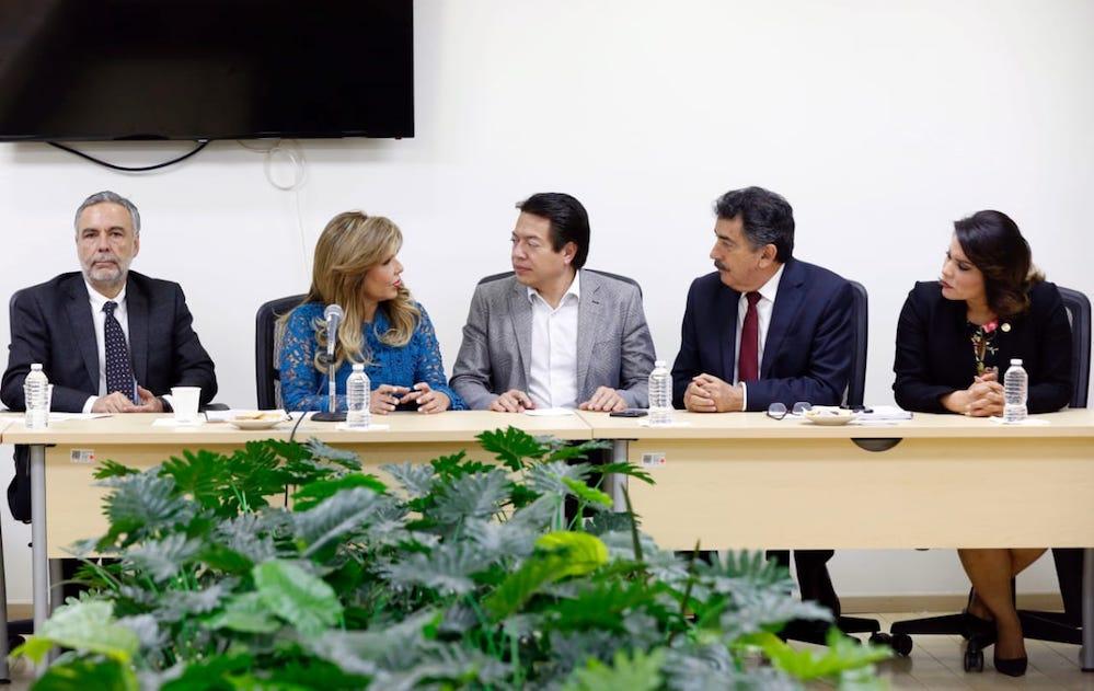 Plantea Gobernadora necesidades del Estado a Diputados Federales