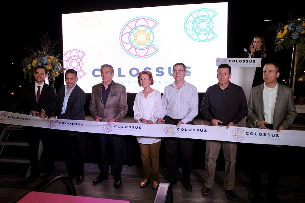 Apertura de Colossus Corporate Center &Plaza muestra de crecimiento: Secretario de Economía