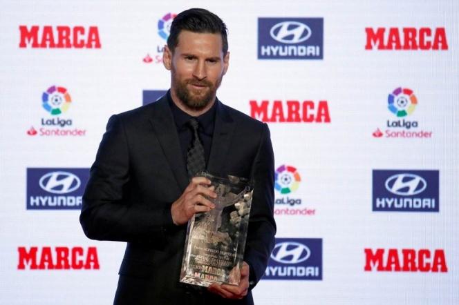 Messi recibe premio e iguala a Hugo Sánchez