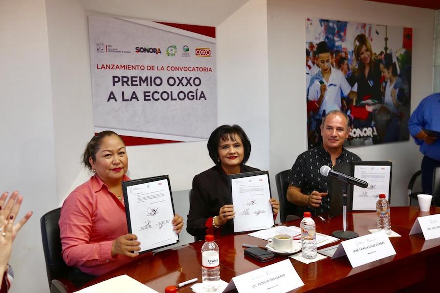 Presenta SEC convocatoria al Premio OXXO a la Ecología