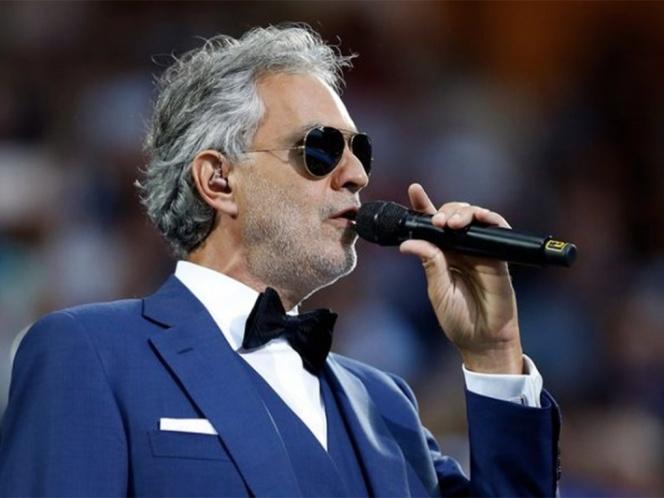 Andrea Bocelli promocionará en México su álbum 'Sì'