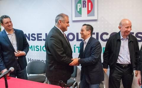 Asume Ernesto de Lucas dirigencia del PRI en Sonora