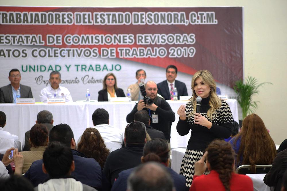 Impulsan trabajadores de Sonora la grandeza del estado