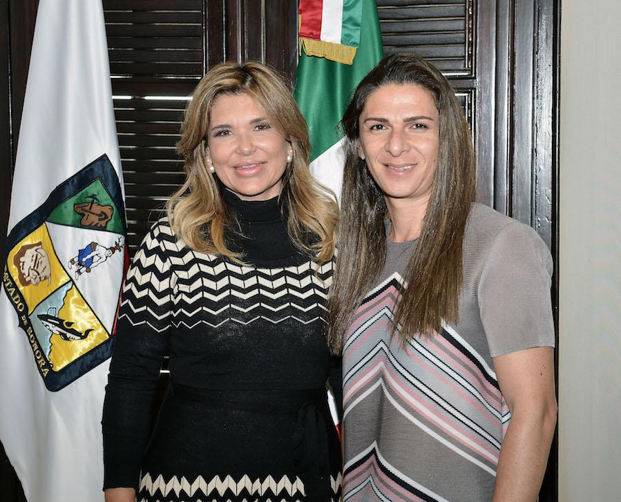 Acuerdan Gobernadora y Guevara fortalecer activación física de alumnos