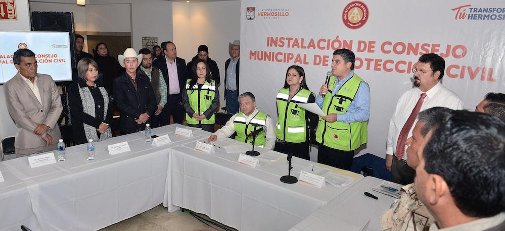 Trabaja Sonora en coordinación para atención de desastres naturales