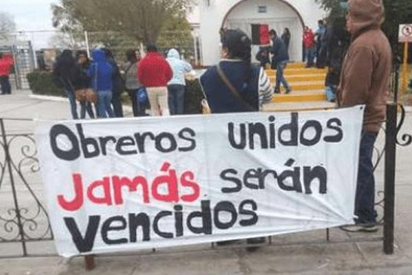 Se esconde el paro obrero de Tamaulipas ¿para no contaminar?