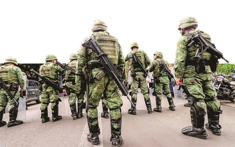 La guardia nacional la panacea ¿para todos los males del país?