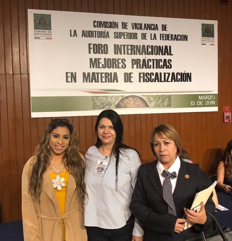 Participan diputadas de Morena en Foro de Fiscalización en CDMX