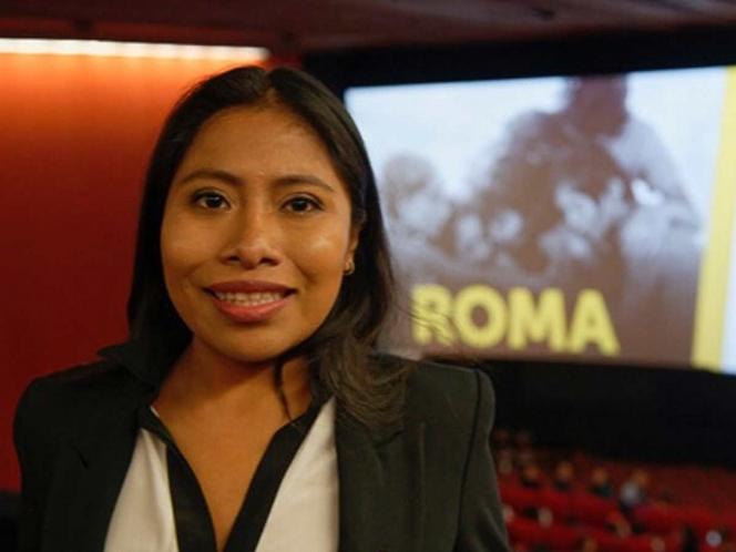 Yalitza viaja a Suiza y pide apoyar a trabajadoras domésticas