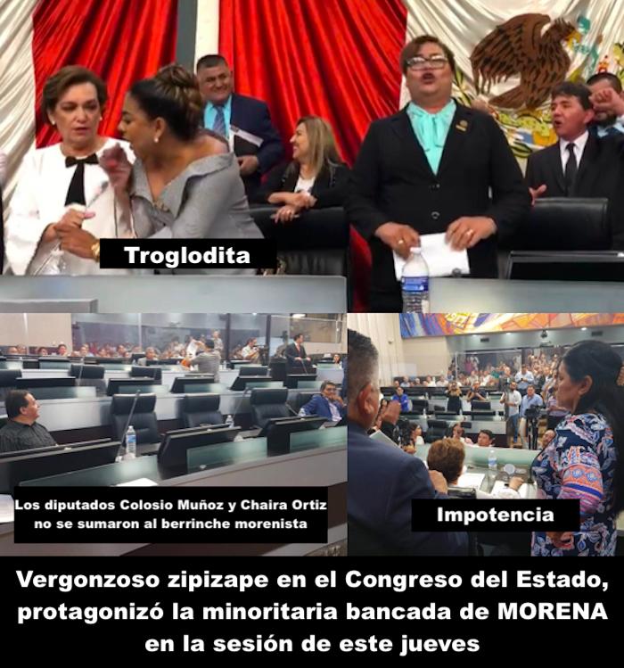 Troglodismo en el Congreso