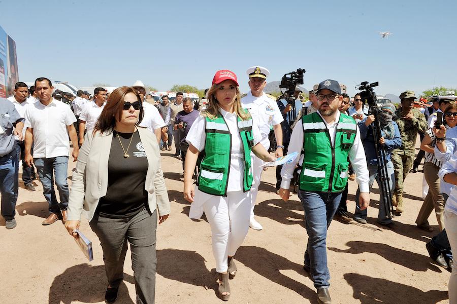 Presenta Gobernadora código QR para prevención y apoyo a turistas