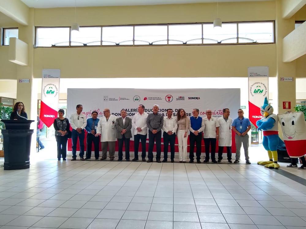 Realiza Salud Sonora Primera Galería Educacional de Sangre en Sonora